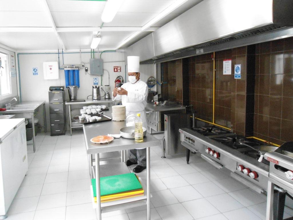 Cocina de Capacitación, desarrollo al servicio del cliente