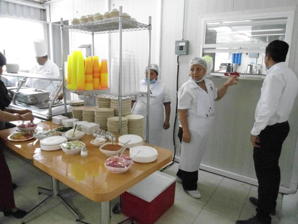 La cocina de Capacitación de Corporativo Kosmos