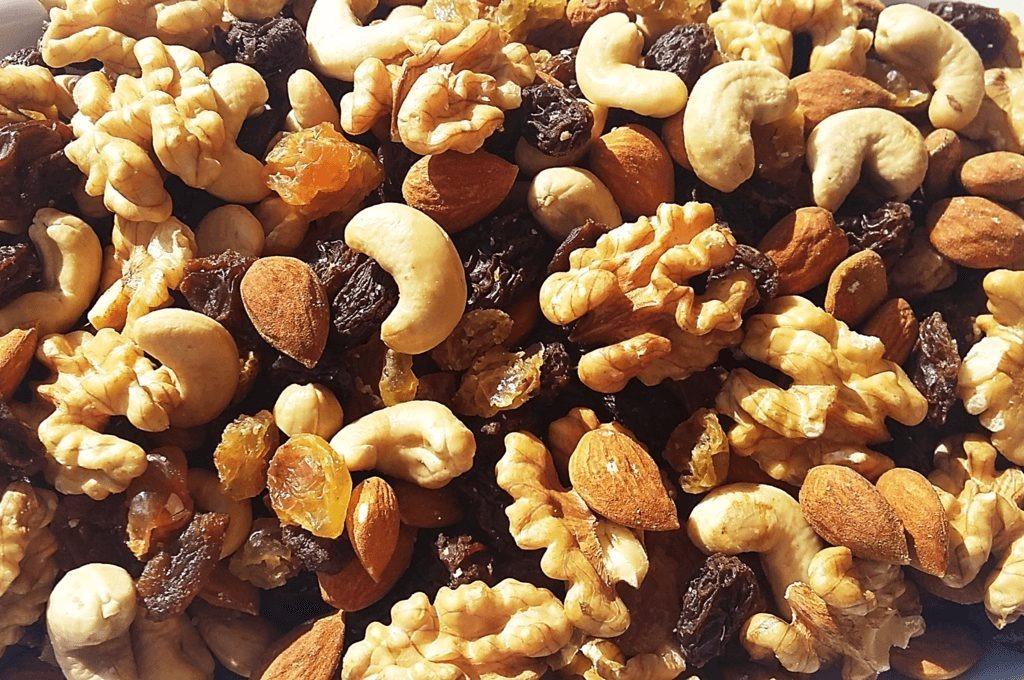 La importancia de los frutos secos en la