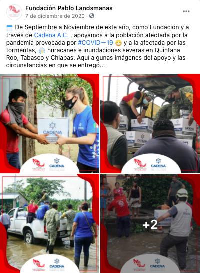 fundacion pablo landsmanas, trabajo humanitario