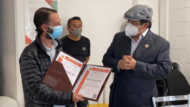 productos serel reciben certificacion iso 45005